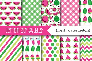 Fresh Watermelon Paper (LES.DP29B)