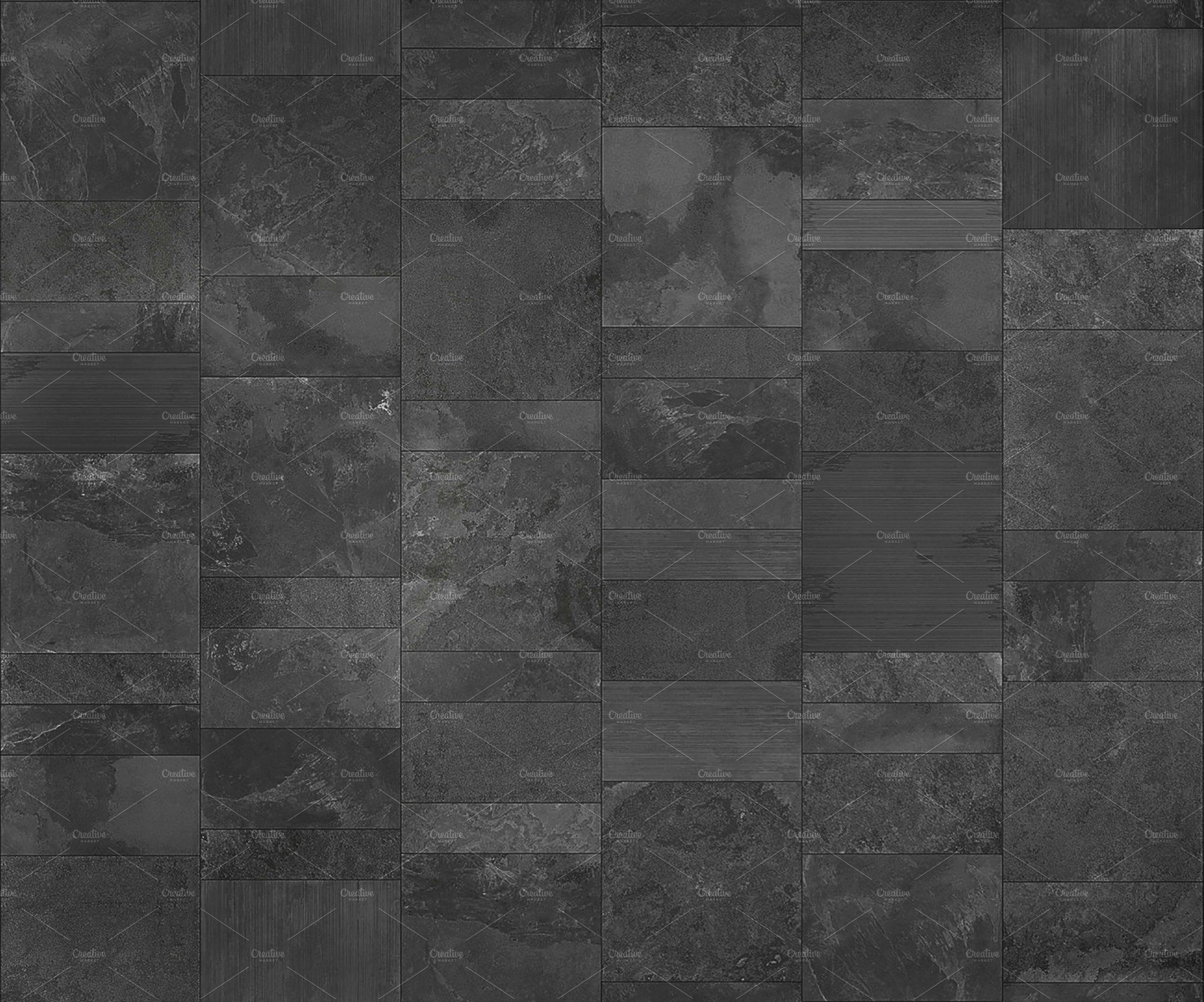 Slate Tile Texture Custom Designed