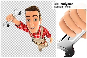 3D Handyman Flying
