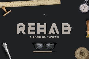 Rehab - The Display Sans Serif Font