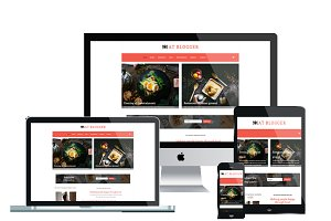AT Blogger – Responsive Joomla Blog