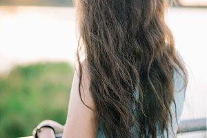 curly beautiful hair