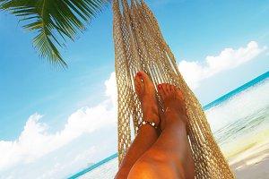 hammock and legs