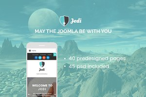 Jedi - Multifunctional Joomla Theme