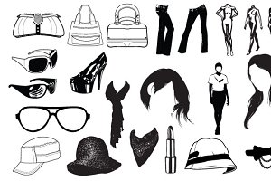 Fashion Vector Pack