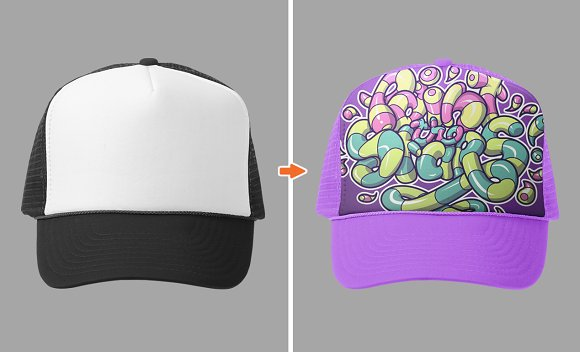 Download Hat Mockup Template Pack