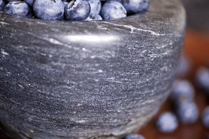 Blueberry closeup