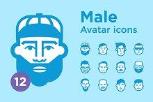 Jimi's Avatar Icons – Male Set