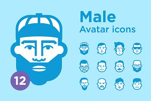 Jimi's Avatar Icons – Male Set