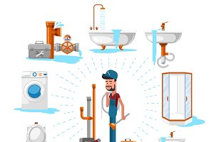 Plumber or maintenance engineer
