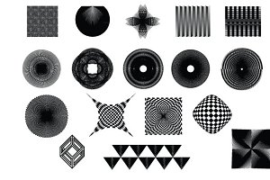 Op Art Vector Pack