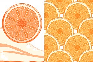 Orange (banner and pattern)