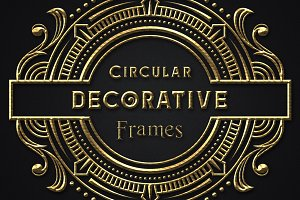 Circular Decorative Frames