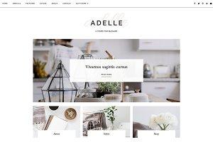 Responsive Blogger Template - Adelle
