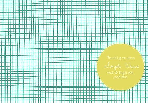 Simple Weave PSDs