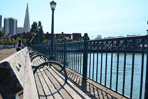 San Fransisco Pier Bench