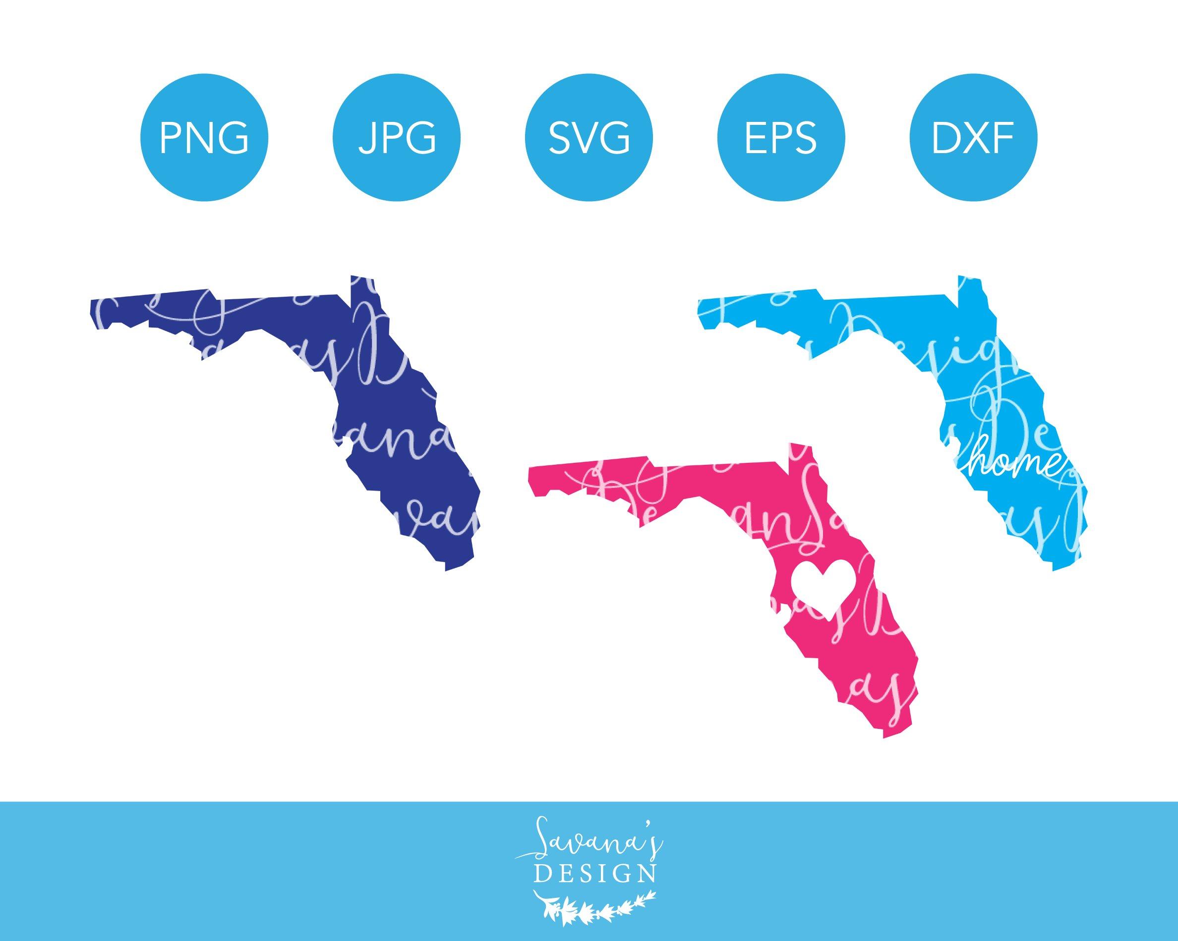 Florida Vector Clipart (Grafik) von dynamicdimensions · Creative Fabrica