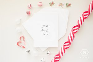 Styled Background Holiday Mockup