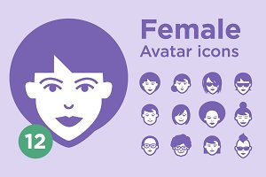 Jimi's Avatar Icons – Female Set