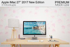 Apple IMac 27'' 2017 New Mockups