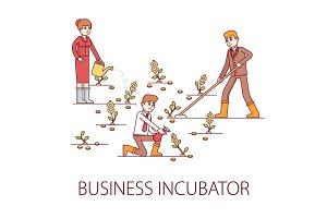 Business incubator concept
