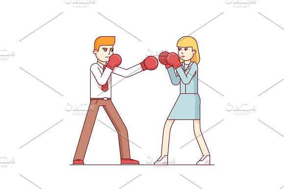 Intersexual Business Conflict