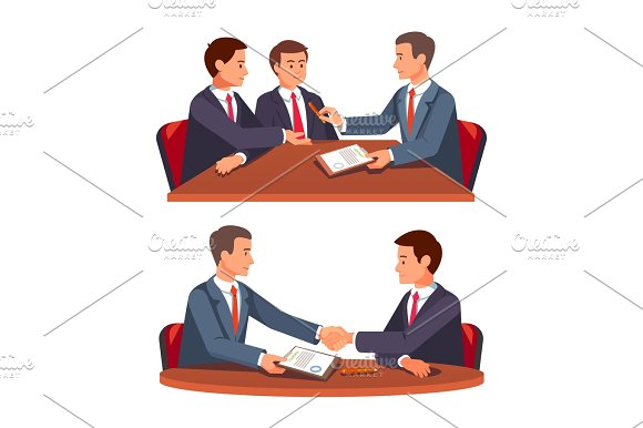 Future Business Partners Signing Contract