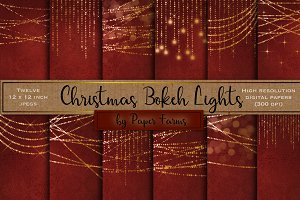 Christmas lights backgrounds