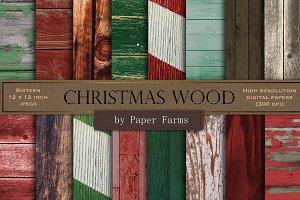 Christmas wood backgrounds