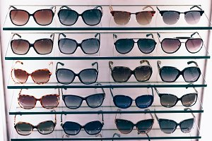 Stack Of Sunglasses