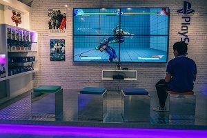 Game Store Interior