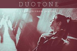 Matte Duotone Lightroom Presets