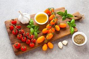 Fresh summer ingredients
