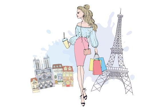 Paris Shoping Card