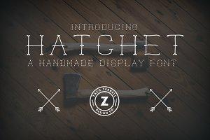 Hatchet Font