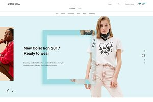 Lococha - PSD Template for Fashion