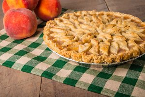 Peaches and peach pie