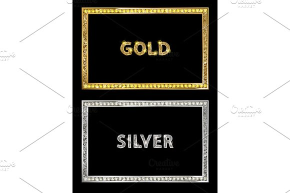 Cinema Silver And Gold Shape Frame