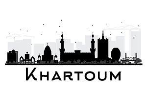 Khartoum City skyline