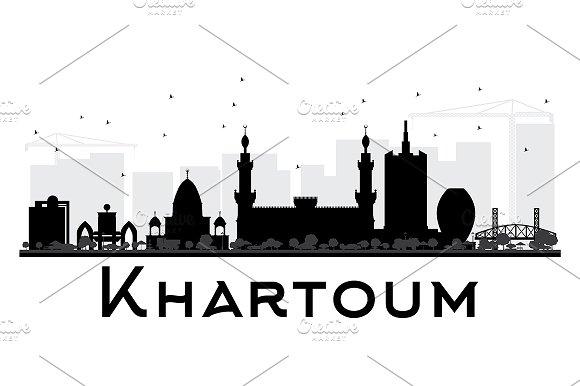 Khartoum City Skyline
