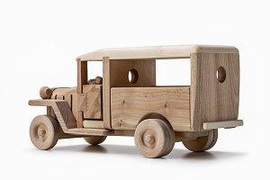 Car vintage bus.