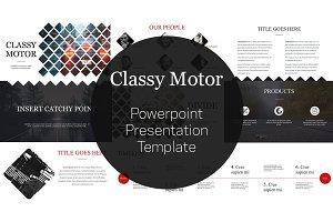 Classy Motor Presentation Template