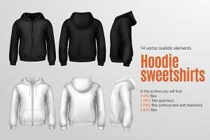 Hoodie Sweetshirt Mockup