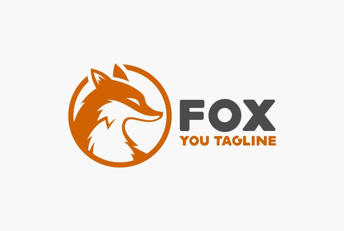 Fox Logo Templates Creative Market