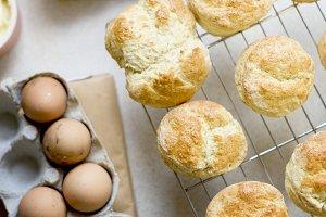 Fresh homemade scones
