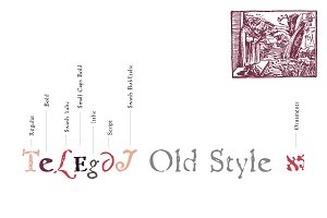Telegdi Old Stlye - Full Pack