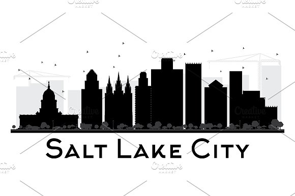 Salt Lake City City Skyline