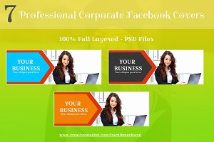 Pro Corporate Facebook Covers