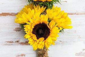 Yellow Sunflower Bouquet