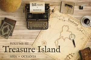 Treasure Island v.3 Asia and Oceania
